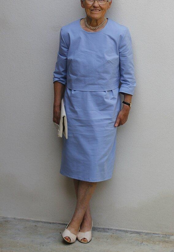 "Ma grand-mère bretonne en ""Parisienne"" (Louis Antoinette)"