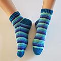 Mes premières <b>chaussettes</b> !