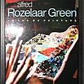Alfred Rozelaar Green (<b>coffret</b>) : 40 ans de peinture
