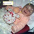 Manon, bébé au si joli sourire!