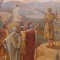 Voici l'<b>Agneau</b> de <b>Dieu</b>, Celui qui enlève le péché du monde