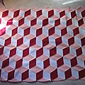 Ma vasarely blanket #11