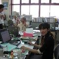 Ma collègue de travail et amie Kyoko que j'apprécie beaucoup