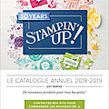 Nouveau catalogue stampin'up