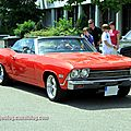 Chevrolet chevelle convertible de 1968 (RegioMotoClassica 2011) 01