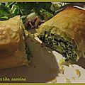 Spanakopita (ou feuilleté aux épinards et feta)
