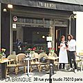 La bringue restaurant fashion 38 rue yves toudic 75010 paris
