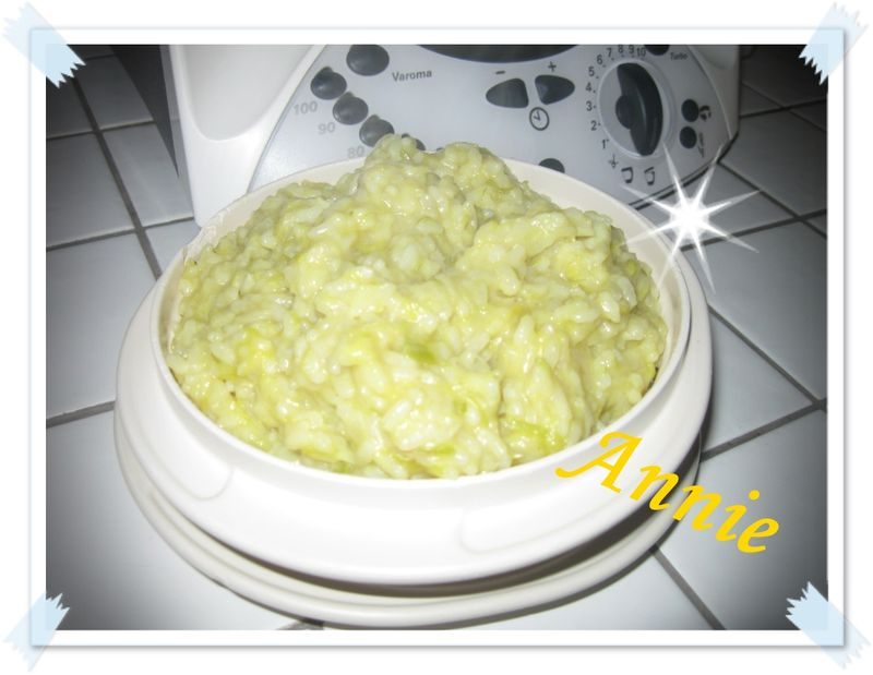 Risotto aux poireaux thermomix weight watchers annie - Cuisine legere thermomix ...