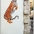 Le tigre de la rue du retrait