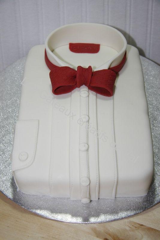 gâteau chemise Papillon 020