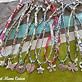 Une petite envie de bracelets en cordon liberty