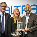 FREDERIC FOUGERAT - CDP CLIMATE LEADERSHIP AWARD 2014