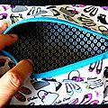 Des chaussures ... des sacs ... une trousse plate pour les <b>fashion</b> <b>addicts</b> !
