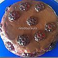 Gâteau aux caramel crémeux et croquant
