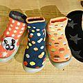 Nouveaux modèles de chaussons collégiens