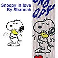 Snoopy in love