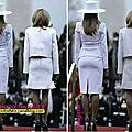 <b>Brigitte</b> <b>Macron</b>, même en trichant un peu, c'est dur gommer les différences