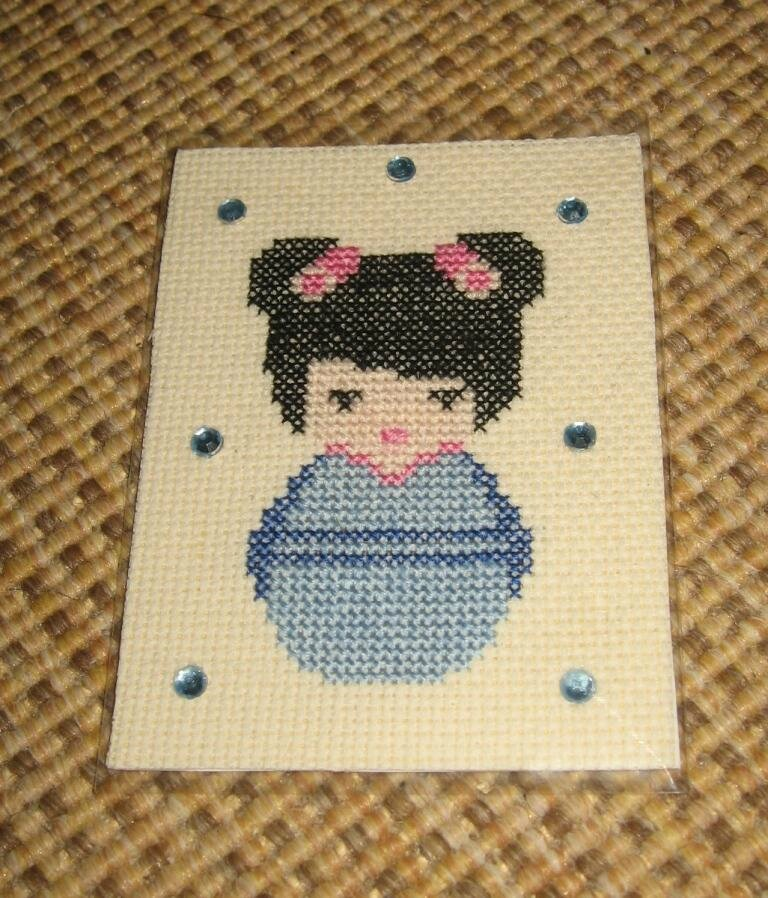 passionbroderie7 Kokeshi