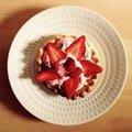 Tartelettes complètement fraises