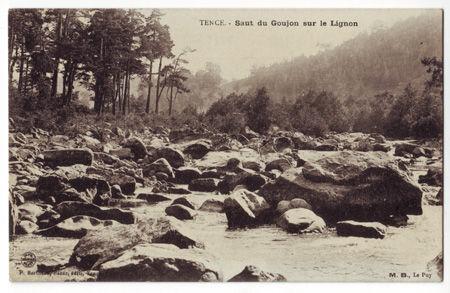 43 - TENCE - Saut du goujon sur le Lignon