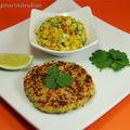 Croquettes de crabe et sambal à la mangue