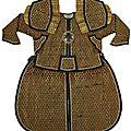 A suit of ceremonial armor with helmet, <b>Late</b> <b>Qing</b> <b>dynasty</b>