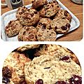 Cranberry & orange scones