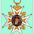ASSOCIATION PATERNELLE DES <b>CHEVALIERS</b> DE L'ORDRE ROYAL ET MILITAIRE DE SAINT-LOUIS ET DU MÉRITE MILITAIRE (1814 - 1830)