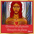DIA 4 - NOVENA DO SAGRADO <b>CORAÇÃO</b> DE JESUS: Nova Direção de Vida