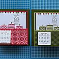 Vidéo de la carte-chevalet calendrier