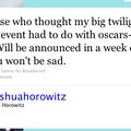 Amy Adams et OTR + Une surprise <b>Twilight</b> (une vraie cette fois-ci?!?) bientôt