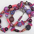 Collier et bracelet hippie