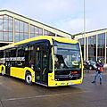 Allemagne : <b>Mercedes</b> place ses premiers e-Citaro