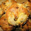 Muffins choco litchis