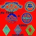 RENAULT : LA MARQUE AU LOSANGE 1930-1960