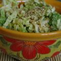 Salade de chou chinois au sésame, sans blé, sans lait, et appel à recettes !