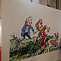 On a vu l'expo Chapeau Bas Spirou à Saint Malo!