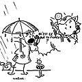 Il pleut..