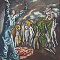El greco, the vision of saint john, ca. 1609–14