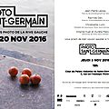 Photo saint germain : invitation opening 2016