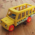 1 school bus fisher price