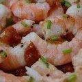 Ma madeleine de proust, quelques crevettes marinées...