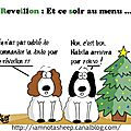 Merry christmas et bon appetit