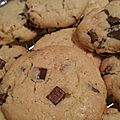 Cookies aux 3 chocolats