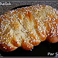 Pain challah (défi boulange)
