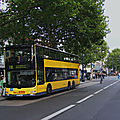 <b>Berlin</b> : le trolleybus plutôt que le bus à batteries