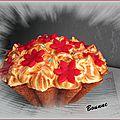 Gros cupcake citron meringué