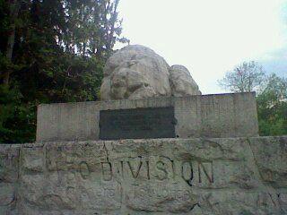 VERDUN SOUVILLE LION COUCHE N° REGIMT