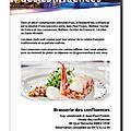 Page petit futé Brasserie confluences