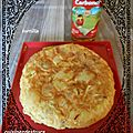 Tortilla lardons oignons